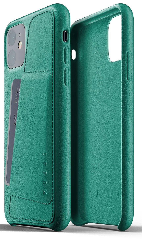 Купить Аксесуари для мобільних телефонів, Чохол MUJJO for iPhone 11 - Full Leather Wallet Alpine Green (MUJJO-CL-006-GR)