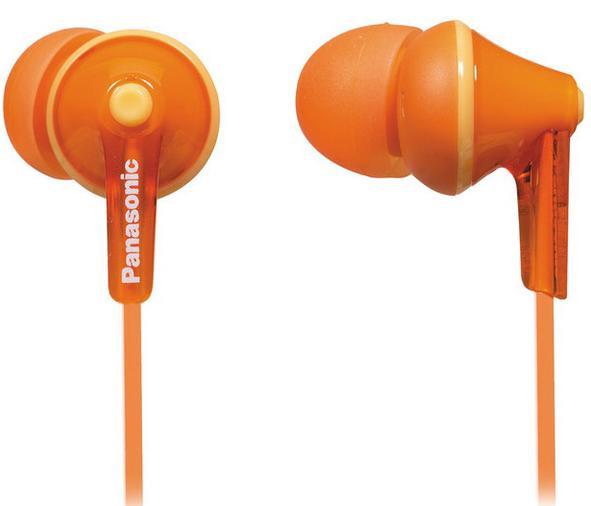 Купить Навушники Panasonic RP-HJE125E-D Orange