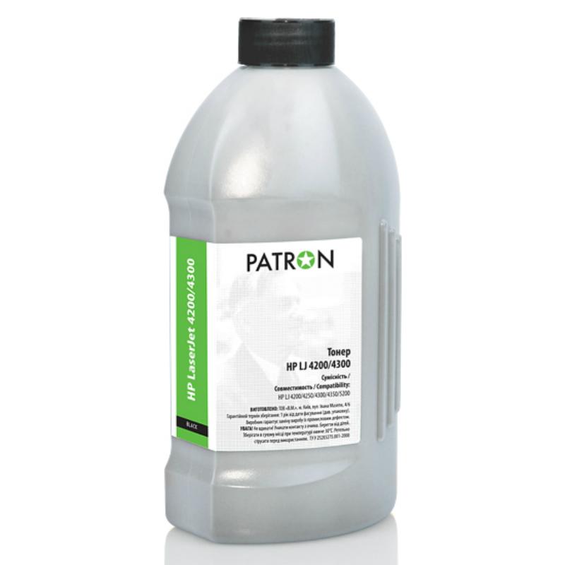 Купить Тонер PATRON HP LJ 4200/4300 чорний, T-HP-4200-690-PN