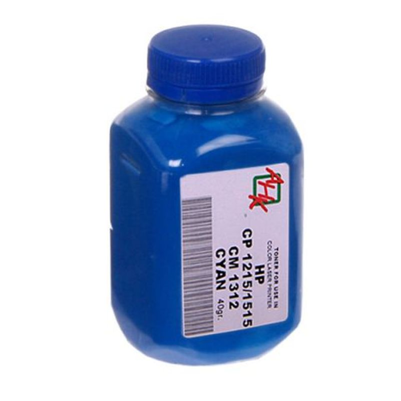 Купить Тонер АНК 330512 HP CLJ CP1215, 1515 блакитний, АНК, 330512, AHK