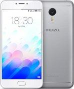 meizu m3 note silver зпереду