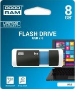 Флешка USB GoodRam Sl!de 8 ГБ (USL2-0080K0R11) чорна/синя