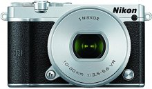 Цифрова фотокамера Nikon 1 J5 kit 10-30 мм PD-Zoom WH срібляста