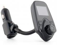FM модулятор T10 LCD дисплей + зарядний пристрій + Bluetooth Handsfree, Чорний