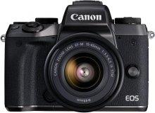 Цифрова фотокамера Canon EOS M5 Kit 15-45 мм IS STM чорна