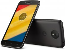 Смартфон Motorola Moto C PLUS XT1723 чорний