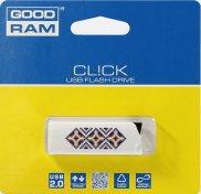 Флешка USB GoodRam Cl!ck Ukraine 32 ГБ (UCL2-0320W0R11-L) біла