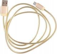 Кабель USB JoyRoom S-M322M Metal Series AM / MicroUSB 1 м золотий