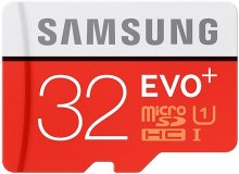 Карта пам'яті Samsung Evo Plus Micro SDHC 32 ГБ (MB-MC32DA/RU)