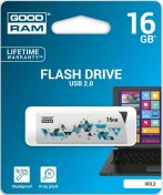 Флешка USB GOODRAM UCL2 16GB UCL2-0160W0R11 White