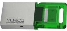 Флешка USB Verico Hybrid Mini 16GB 1UDOV-RIGNG3-NN Green