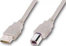Кабель USB ATcom AM / BM 3 м білий