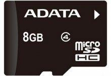 Карта пам'яті A-Data Micro SDHC 8 ГБ (AUSDH8GCL4-R)