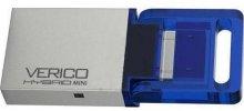 Флешка USB Verico Hybrid Mini 16GB 1UDOV-RIBEG3-NN Blue