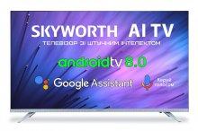 Телевізор LED Skyworth 32Е6 (Android TV, Wi-Fi, 1366x768)
