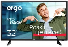 Телевізор LED Ergo 32DHS5000 (Android TV, Wi-Fi, 1366x768)