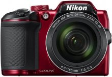 Цифрова фотокамера Nikon Coolpix B500 червона
