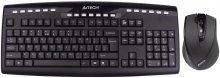 Комплект клавіатура+миша A4tech 9200F чорна