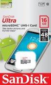 Карта пам'яті SanDisk Ultra Micro SDHC 16GB SDSQUNS-016G-GN3MN