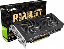 Выдеокарта Palit GTX 1660 Super GP (NE6166S018J9-1160A-1)
