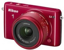 Цифрова фотокамера Nikon 1 S2 kit 11-27.5мм червона