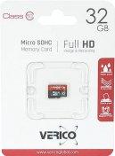 Карта пам'яті Verico Micro SDHC 32 ГБ (VFE3-32G-V2E)