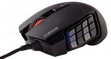 Мишка Corsair SCIMITAR Multi-Colour RGB чорна