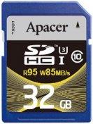 Карта пам'яті Apacer SDHC 32GB AP32GSDHC10U4-R