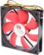 Вентилятор для корпуса ProLogix PF-SB120BR3 чорний/червоний