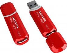 FLASH-USB:16Gb A-Data UV150 USB 3.0 Червона