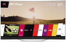 Телевізор OLED LG 77EC980V (3D, Smart TV, Wi-Fi, Curved, 3840x2160)