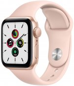 Смарт годинник Apple Watch Series SE GPS 40mm Gold Aluminium with Pink Sand Sport Band (MYDN2)