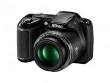 Цифрова фотокамера Nikon Coolpix L340 чорна