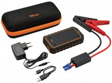 Батарея універсальна Trust Car Jump Starter & Powerbank 10000mAh чорна/оранжева