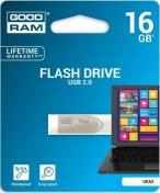 Флешка USB GOODRAM Eazzy 16 ГБ (UEA2-0160S0R11) сіра
