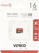 Карта пам'яті Verico Micro SDHC 16 ГБ (VFE3-16G-V2E)