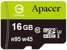 Карта пам'яті Apacer Micro SDHC 16GB AP16GMCSH10U3-R