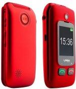 Мобільний телефон Sigma Comfort 50 Shell чорний/червоний