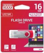Флешка USB GoodRam Twister 16 ГБ (UTS3-0160R0R11) червона