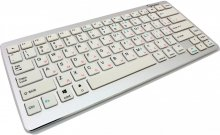 Клавіатура Gembird KB-6411BT-UA біла