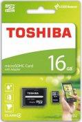 Карта пам'яті Toshiba Micro SDHC 16 ГБ (THN-M102K0160M2)