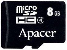 Карта пам'яті Apacer Micro SDHC 8GB AP8GMCSH4-RA