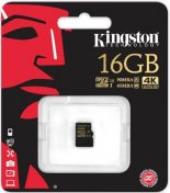 Карта пам'яті Kingston Micro SDHC 16GB SDCG/16GBSP