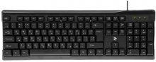 Клавіатура, 2Е KS 104 USB Чорна