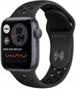 Смарт годинник Apple Watch Nike Series SE GPS 40mm Space Gray Aluminium Case with Anthracite/Black (MYYF2)