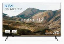 Телевізор LED Kivi 43U740LB (Android TV, Wi-Fi, 3840x2160)