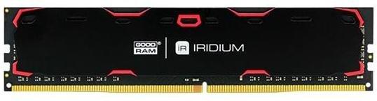Пам'ять Goodram Iridium Black DDR4 1х8 ГБ (IR-2400D464L15S/8G)