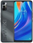Смартфон TECNO Spark 7 KF6n 4/64GB Magnet Black (4895180766398)