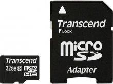 Карта пам'яті Transcend micro SDHC 32ГБ (TS32GSDHC10)