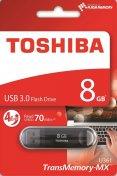 Флешка USB Toshiba Suzaku 8 ГБ (THN-U361K0080M4) чорна